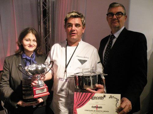 Pour sa deuxième participation, Sébastien Gaillard, du restaurant La truffe  à Aups, remporte la seconde édition de ce concours de risotto créatif  imaginé ... 5b0e1e3495a