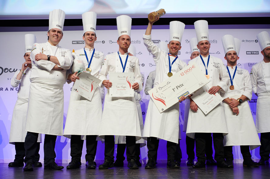 Bocuse d'or France. Davy Tissot représentera la France au Bocuse d'or Europe 2020