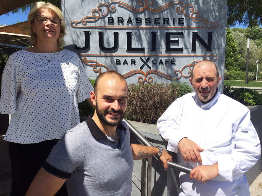 Brasserie Julien à Cagnes-sur-Mer. Made in France
