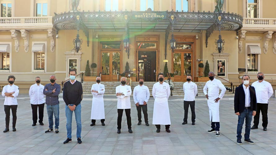 Groupe Monte-Carlo SBM. Les chefs solidaires